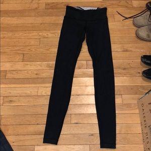 Lululemon full length reversible legging bottom